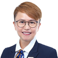 Bernice Wu real estate agent of Huttons Asia Pte Ltd