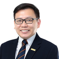 Eddie Hu real estate agent of Huttons Asia Pte Ltd