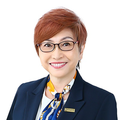 Serena Pan real estate agent of Huttons Asia Pte Ltd