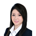 Sharon Huang real estate agent of Huttons Asia Pte Ltd