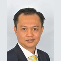 William Chua real estate agent of Huttons Asia Pte Ltd
