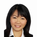 Yvonne Mun real estate agent of Huttons Asia Pte Ltd