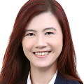 Poh Yen Chua  real estate agent of Huttons Asia Pte Ltd