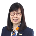 Iris Lim real estate agent of Huttons Asia Pte Ltd