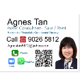 Agnes Tan real estate agent of Huttons Asia Pte Ltd
