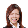 Jena Chim real estate agent of Huttons Asia Pte Ltd