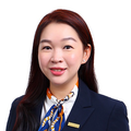 Vina Wang real estate agent of Huttons Asia Pte Ltd