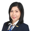 Sylvia Amber Tan real estate agent of Huttons Asia Pte Ltd