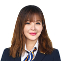 Claire Koh real estate agent of Huttons Asia Pte Ltd