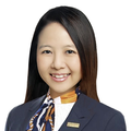 Sara Shong real estate agent of Huttons Asia Pte Ltd