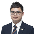 Edwin Low real estate agent of Huttons Asia Pte Ltd