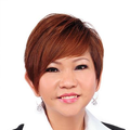 Doreen Chi real estate agent of Huttons Asia Pte Ltd