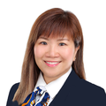 Florence Choe real estate agent of Huttons Asia Pte Ltd