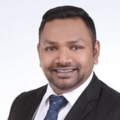 Vidyaraj Naidu real estate agent of Huttons Asia Pte Ltd