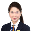 Lina Bong real estate agent of Huttons Asia Pte Ltd