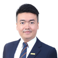 Ben He real estate agent of Huttons Asia Pte Ltd