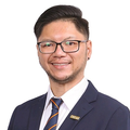 Desmond Wong real estate agent of Huttons Asia Pte Ltd