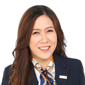 Crystal Lau real estate agent of Huttons Asia Pte Ltd