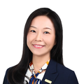 Angela Chen real estate agent of Huttons Asia Pte Ltd