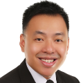 Mark Lim real estate agent of Huttons Asia Pte Ltd