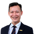 Jim Chia real estate agent of Huttons Asia Pte Ltd