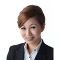 Jasmine Lin real estate agent of Huttons Asia Pte Ltd