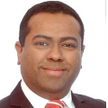 Russell Dsouza real estate agent of Huttons Asia Pte Ltd