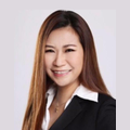 Jenny Lee real estate agent of Huttons Asia Pte Ltd