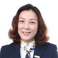 June Lin real estate agent of Huttons Asia Pte Ltd